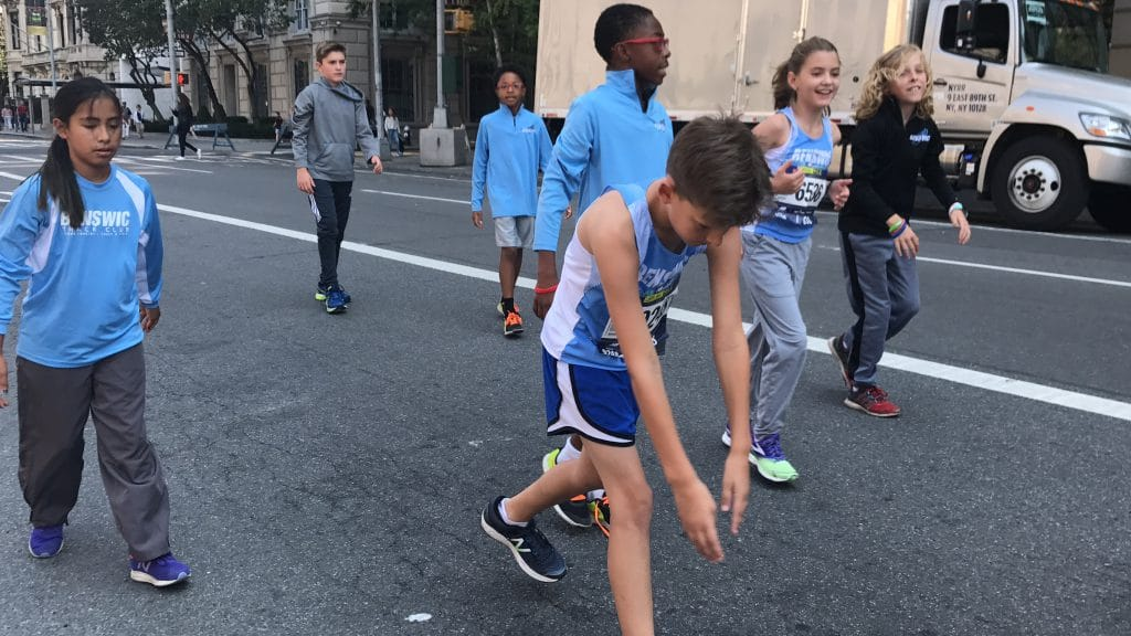 "The race starts on Manhattan's famed Fifth Avenue near East 80th Street, in the heart of ""Museum Mile."" From there it heads one mile south on Fifth Avenue to the finish at East 60th Street. Read more: New Balance 5th Avenue Mile"